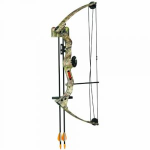 Bear Archery Right Hand Brave 3 Bow Set (APG Camo)