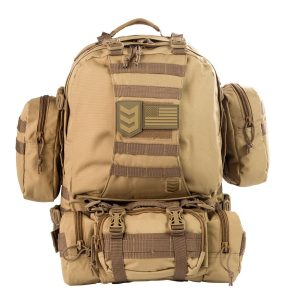 3V Gear Paratus 3 Day Operator's Pack Military Style Molle & Hydration Compatible Tactical Backpack