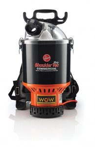 Hoover Commercial Shoulder Vac Pro Backpack Vacuum
