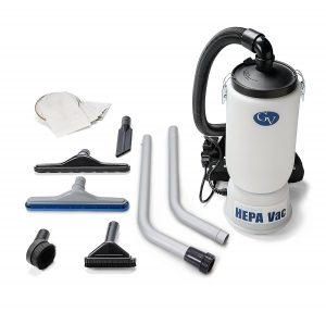 New GV HEPA Backpack Vacuum