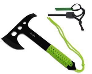 Yes4All Camping Survival Hunting Full Tang Hatchet